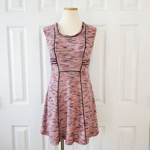 Nic + Zoe Heather Knit Fit and Flare Dress